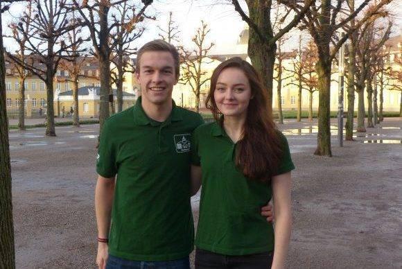 Florian Gräbe und Karoline Münch