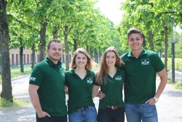 Sammy Betzenhauser, Marieke Holzhauer, Caroline Kues und Kai Firschau