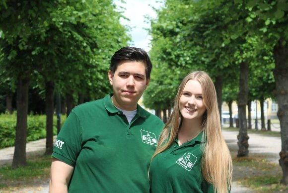 Robin Otto-Tuti und Sara Hermeler