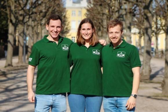 Alex Wirth, Lena Höhne und Jan Fritze
