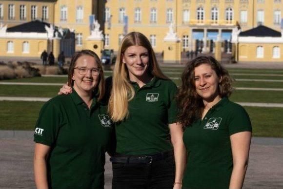 Hannah Schulz, Marlene Herl und Vera Meinert