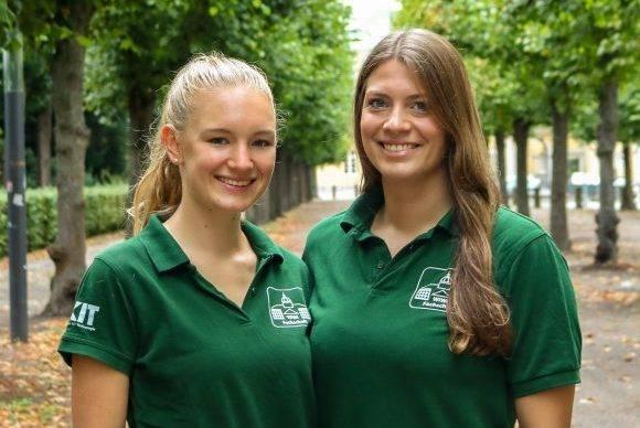 Pauline Kochendörfer und Nina Schwarz