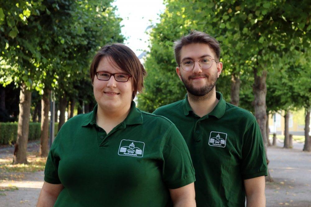 Lara Trenz und Jannik Schwade
